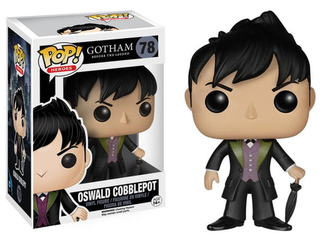 Funko Pop! Television - Gotham #78 - Oswald Cobblepot *VAULTED* - Simply Toys