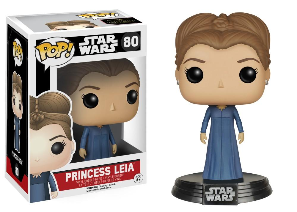 Funko Pop! Movies - Star Wars: Episode VII - The Force Awakens #80 - Princess Leia - Simply Toys