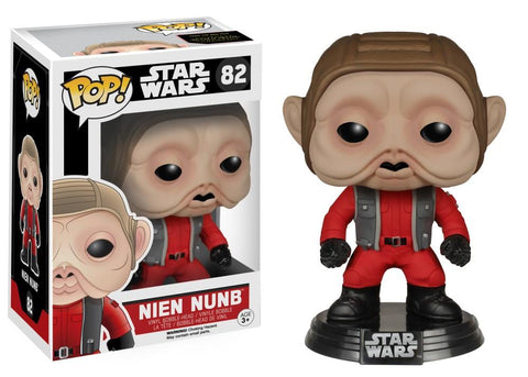 Funko Pop! Movies - Star Wars: Episode VII - The Force Awakens #82 - Nien Nunb - Simply Toys