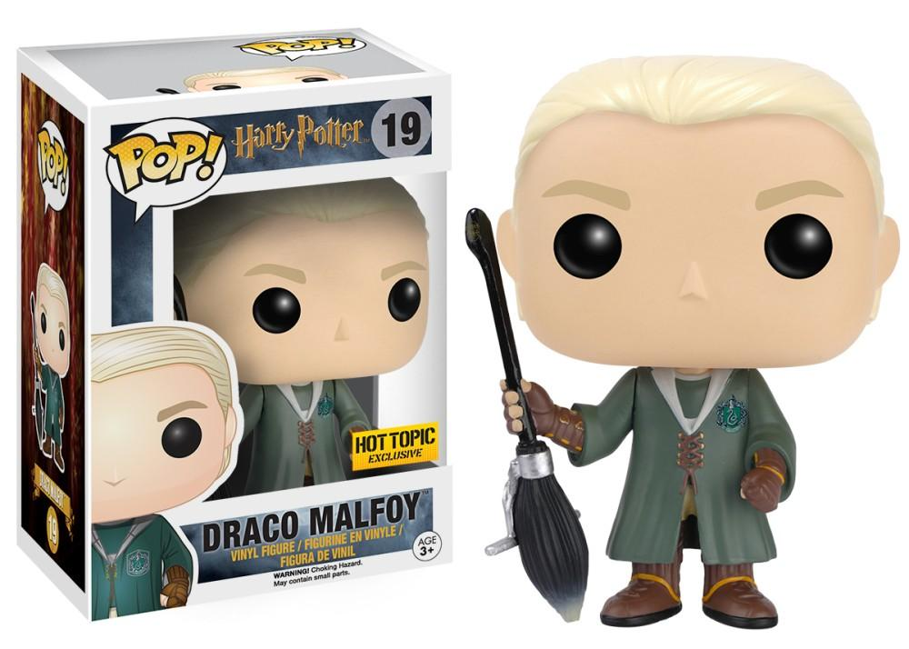 Funko Pop! Movies - Harry Potter #16 - Draco Malfoy (w/ Quidditch Robes) (Exclusive) - Simply Toys