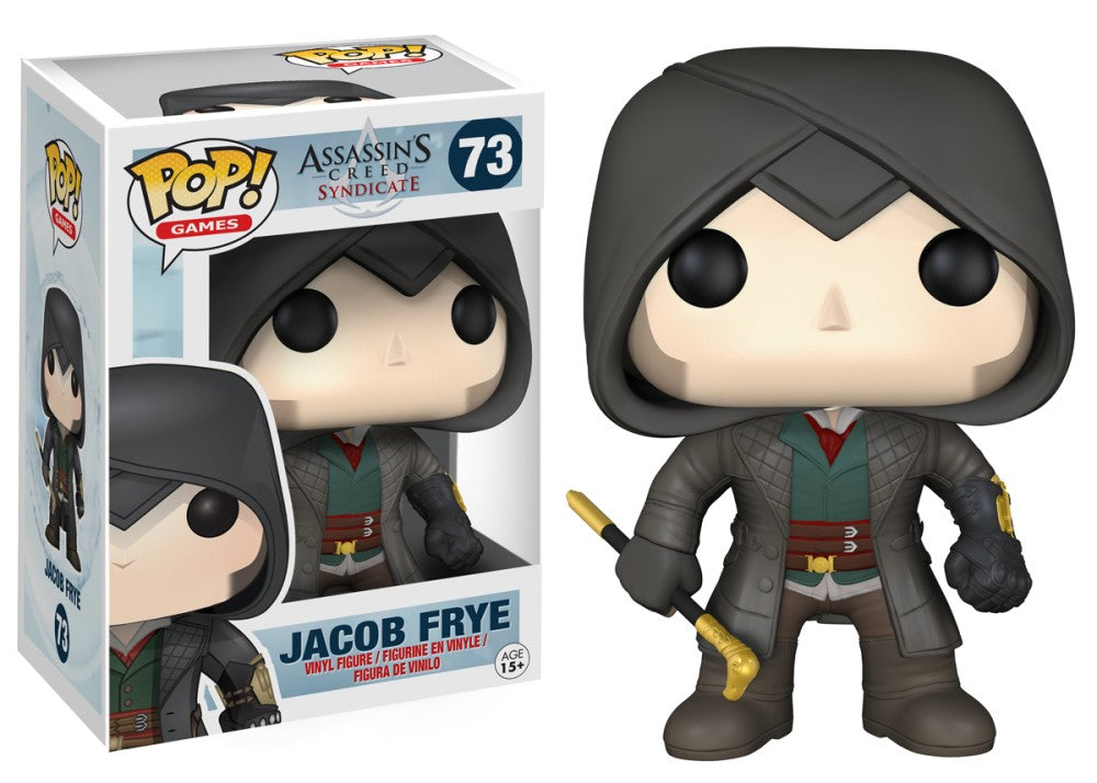 Funko Pop! Games - Assassin's Creed #73 - Jacob Fyre - Simply Toys