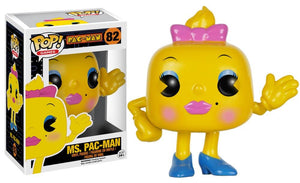 Funko Pop! Games - Pac-Man #82 - Ms. Pac-Man - Simply Toys
