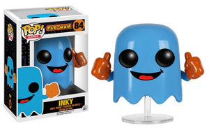 Funko Pop! Games - Pac-Man #84 - Inky - Simply Toys