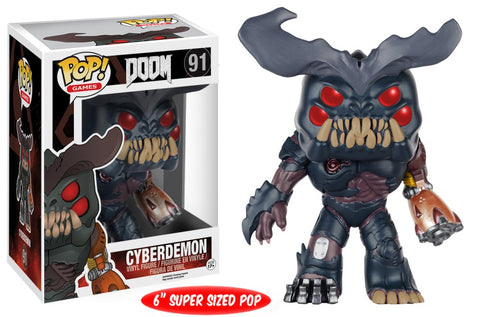 Funko Pop! Games - DOOM #91 - Cyberdemon (6 inch) - Simply Toys