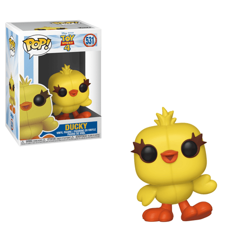 Funko Pop! Movies - Toy Story 4 #531 - Ducky - Simply Toys