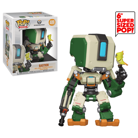 Funko Pop! Games - Overwatch #489 - Bastion (6 inch) - Simply Toys