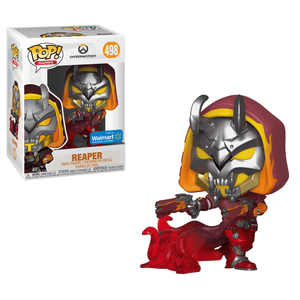 Funko Pop! Games - Overwatch #498 - Reaper (Hellfire) (Exclusive) - Simply Toys