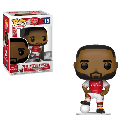 Funko Pop! Sports - Football: Arsenal #15 - Alexandre Lacazette - Simply Toys