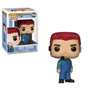 Funko Pop! Rocks - NSYNC #114 - Joey Fatone - Simply Toys