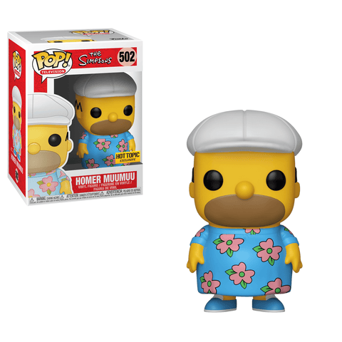 Funko Pop! Animation – The Simpsons #502 – Homer Muumuu (Exclusive) - Simply Toys