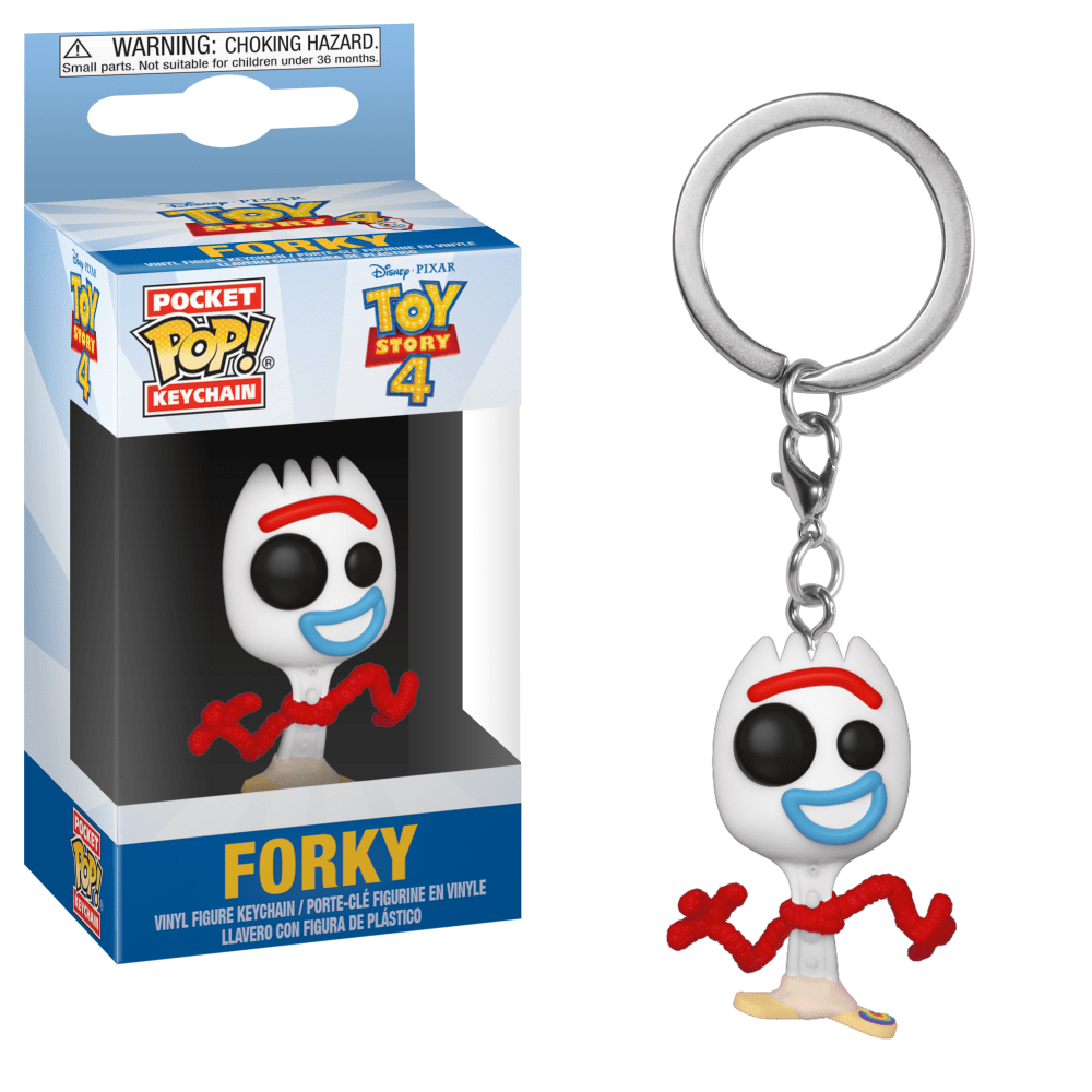 Funko Pop! Keychain - Toy Story - Forky - Simply Toys