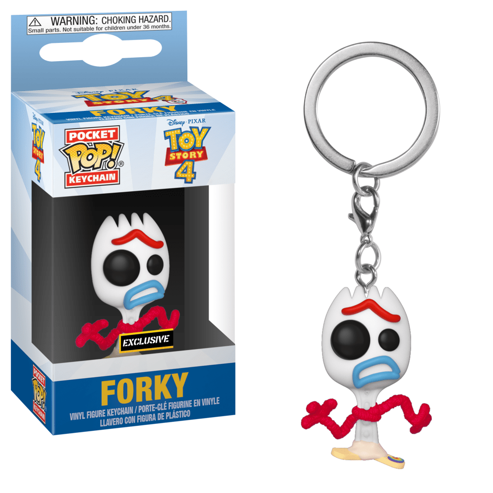 Funko Pop! Keychain - Toy Story - Forky (Sad Face) (Exclusive) - Simply Toys