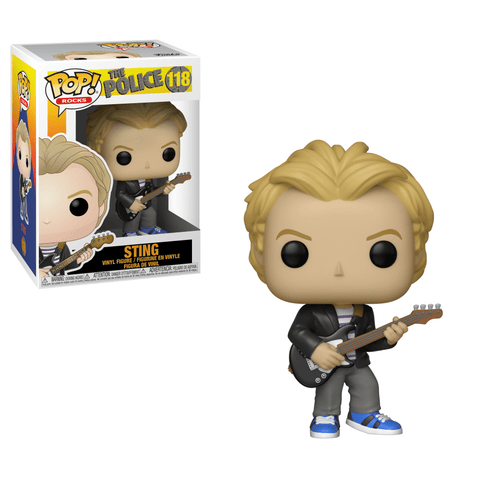 Funko Pop! Rocks - The Police #118 - Sting - Simply Toys