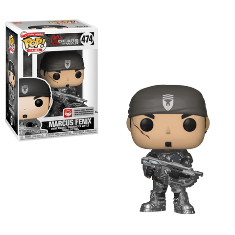 Funko Pop! Games - Gears of War #474 - Marcus Fenix - Simply Toys