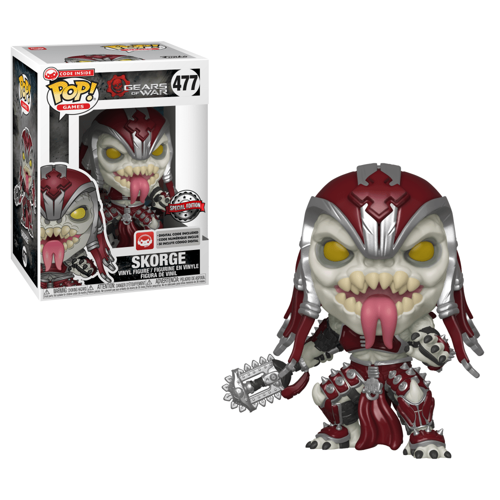 Funko Pop! Games - Gears of War #477 - Skorge (Exclusive) - Simply Toys