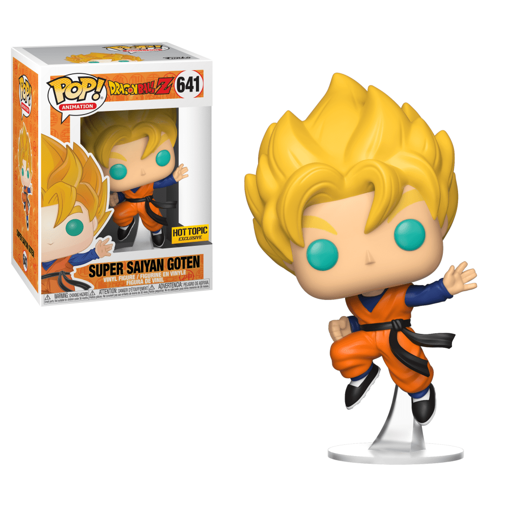 Funko Pop! Animation - Dragonball Z #641 - Super Saiyan Goten (Exclusive) - Simply Toys