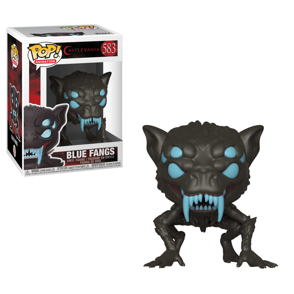 Funko Pop! Animation - Castlevania #583 - Blue Fangs - Simply Toys