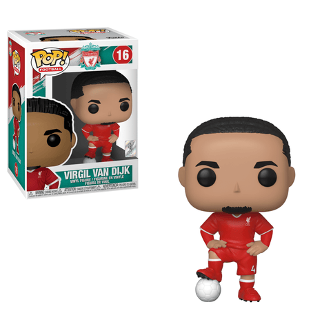 Funko Pop! Sports - Football: Manchester United #16 - Virgil Van Dijk - Simply Toys