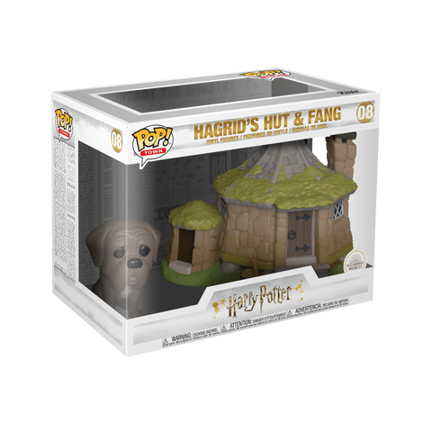 Funko Pop! Town - Harry Potter #08 - Hagrid's Hut with Fang - Simply Toys