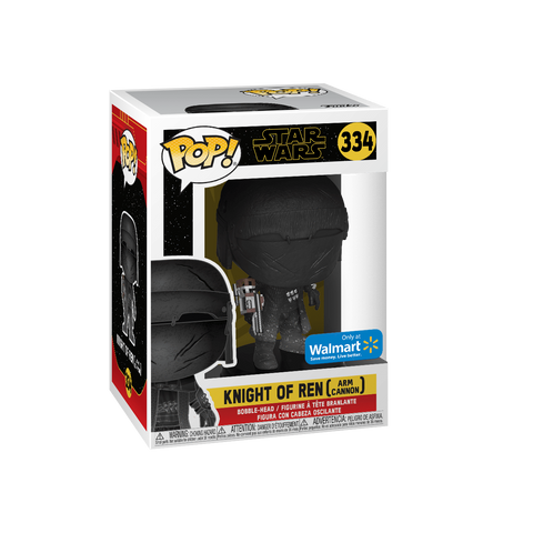 Funko Pop! Movies - Star Wars: Episode IX - The Rise of Skywalker #334 - Knight of Ren (Arm Cannon) (Exclusive) - Simply Toys
