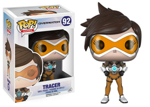 Funko Pop! Games - Overwatch #92 - Tracer - Simply Toys