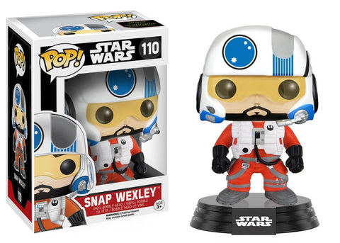 Funko Pop! Movies - Star Wars: Episode VII - The Force Awakens #110 - Snap Wexley - Simply Toys