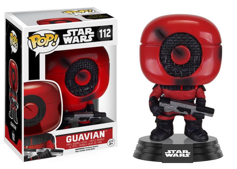 Funko Pop! Movies - Star Wars: Episode VII - The Force Awakens #112 - Guavian - Simply Toys