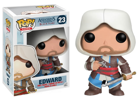 Funko Pop! Games - Assassin's Creed #23 - Edward Kenway - Simply Toys