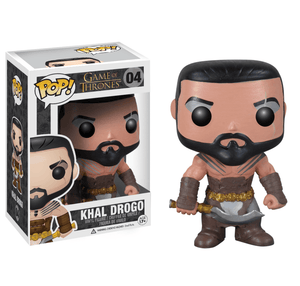 Funko Pop! Television - Game of Thrones #04 - Khal Drogo - Simply Toys
