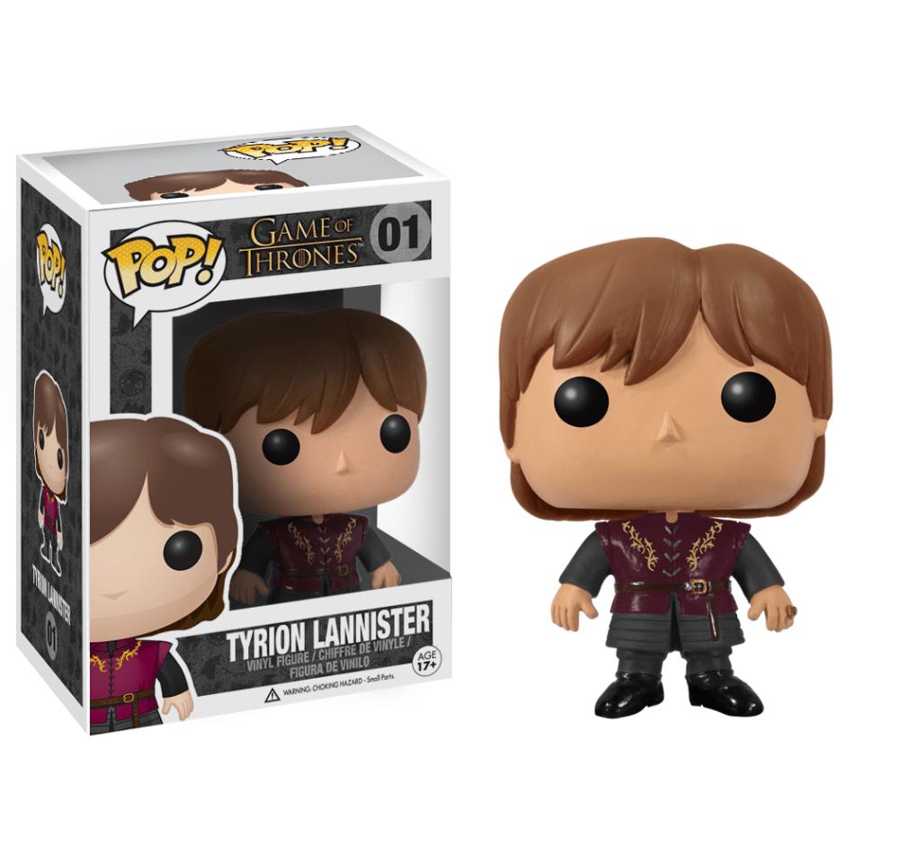 Funko Pop! Television - Game of Thrones #01 - Tyrion Lannister - Simply Toys