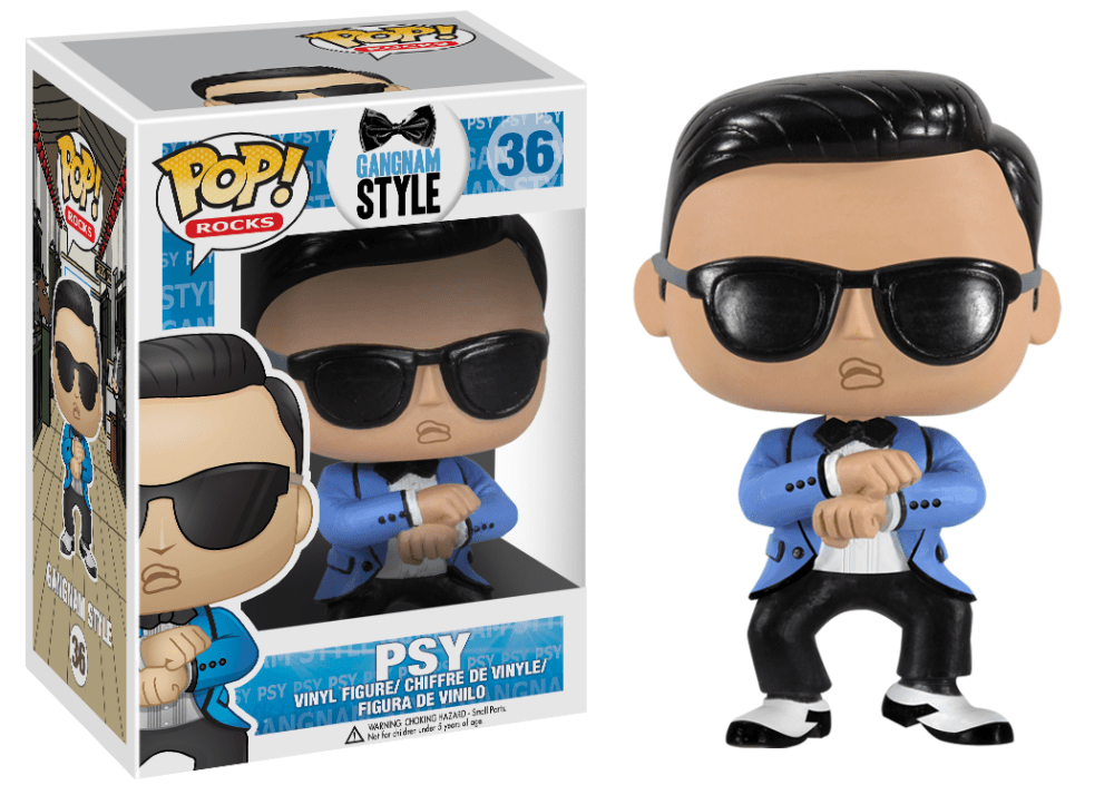 Funko Pop! Rocks - Gangnam Style #36 - PSY *VAULTED* - Simply Toys