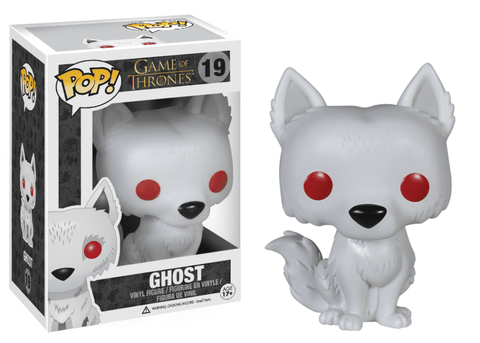 Funko Pop! Television - Game of Thrones #19 - Ghost - Simply Toys
