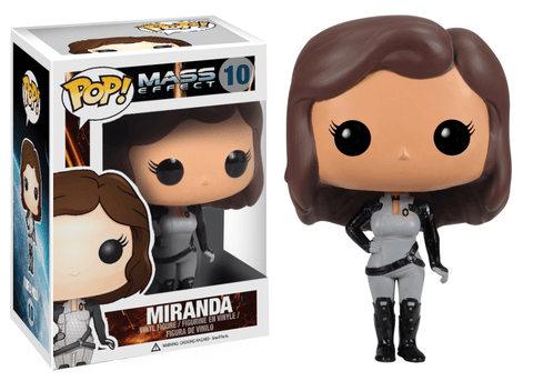 Funko Pop! Games - Mass Effect #10 - Miranda *VAULTED* - Simply Toys
