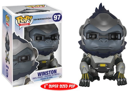 Funko Pop! Games - Overwatch #97 - Winston (6 inch) - Simply Toys