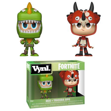 Funko VNYL - Fortnite - Rex + Tricera Ops - Simply Toys