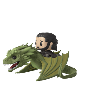 Funko Pop! Rides - Game of Thrones #67 - Jon Snow & Rhaegal - Simply Toys