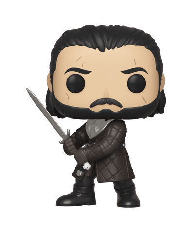 Funko Pop! Television - Game of Thrones #80 - Jon Snow (Battle of Winterfell) - Simply Toys