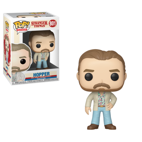 Funko Pop! Television - Stranger Things #801 - Hopper - Simply Toys