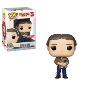 Funko Pop! Television - Stranger Things #847 - Eleven with Teddybear (Exclusive) - Simply Toys