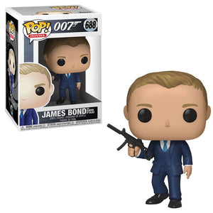 Funko Pop! Movies - James Bond #688 - James Bond (Quantum of Solace) - Simply Toys