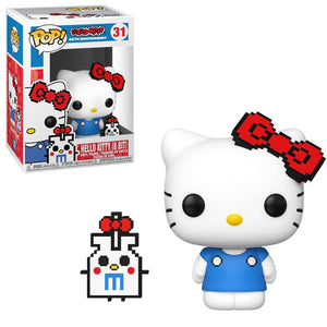 Funko Pop! Animation – Sanrio #31 – Hello Kitty (8-Bit) - Simply Toys