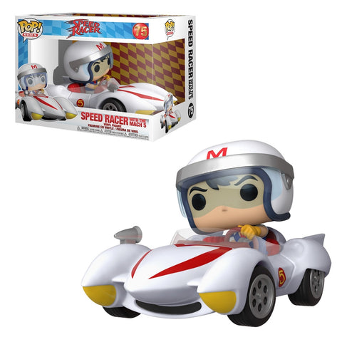 Funko Pop! Rides - Speed Racer #75 - Speed Racer with the Mach 5 - Simply Toys
