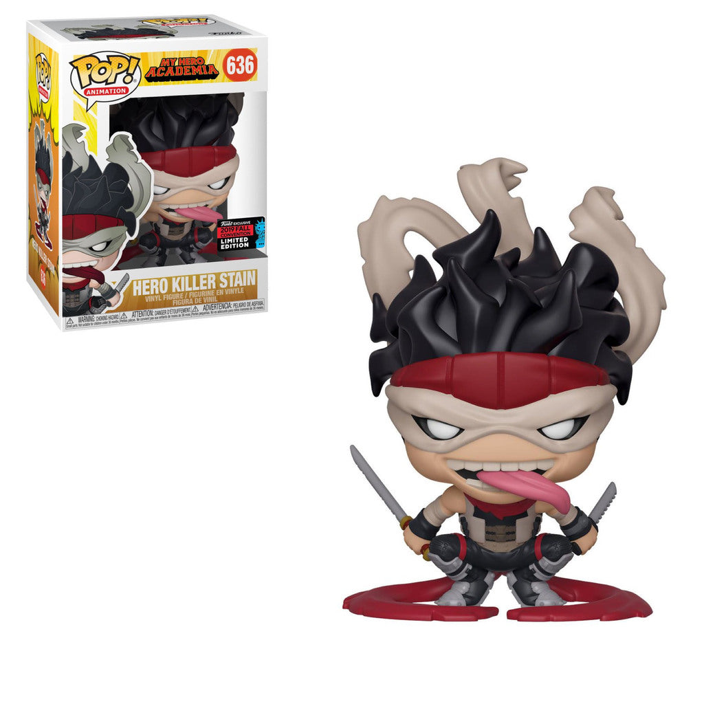 Funko Pop! Animation - My Hero Academia #636 - Hero Killer Stain (Fall Convention 2019 Exclusive) - Simply Toys