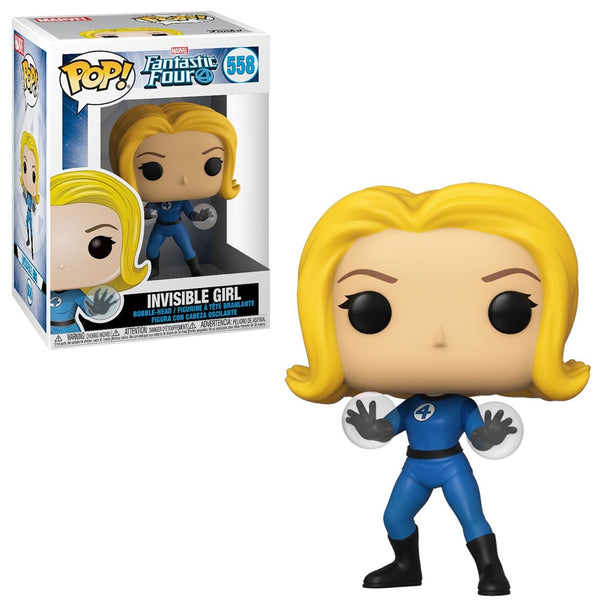 Funko Pop! MARVEL - Fantastic Four #558 - Invisible Girl - Simply Toys