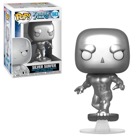 Funko Pop! MARVEL - Fantastic Four #563 - Silver Surfer - Simply Toys