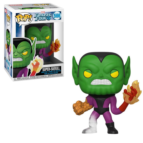 Funko Pop! MARVEL - Fantastic Four #566 - Super Skrull - Simply Toys
