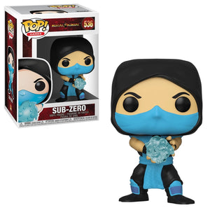 Funko Pop! Games - Mortal Kombat #536 - Sub-Zero - Simply Toys