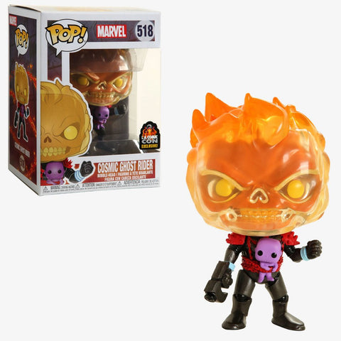Funko Pop! MARVEL - MARVEL #518 - Cosmic Ghost Rider (LACC 2019 Convention Exclusive) - Simply Toys