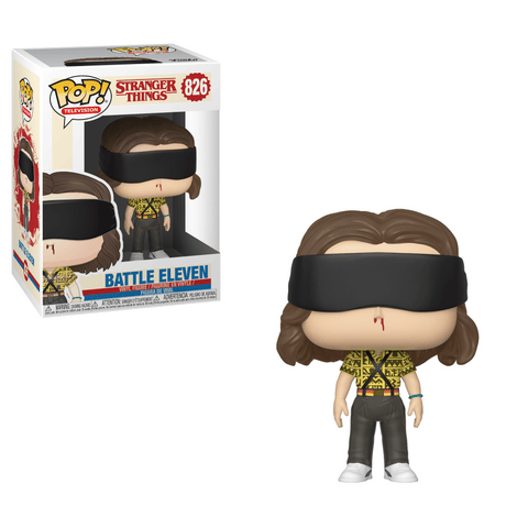 Funko Pop! Television - Stranger Things #826 - Battle Eleven - Simply Toys