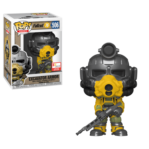 Funko Pop! Games - Fallout 76 #482 - Excavator Armor (Exclusive) - Simply Toys